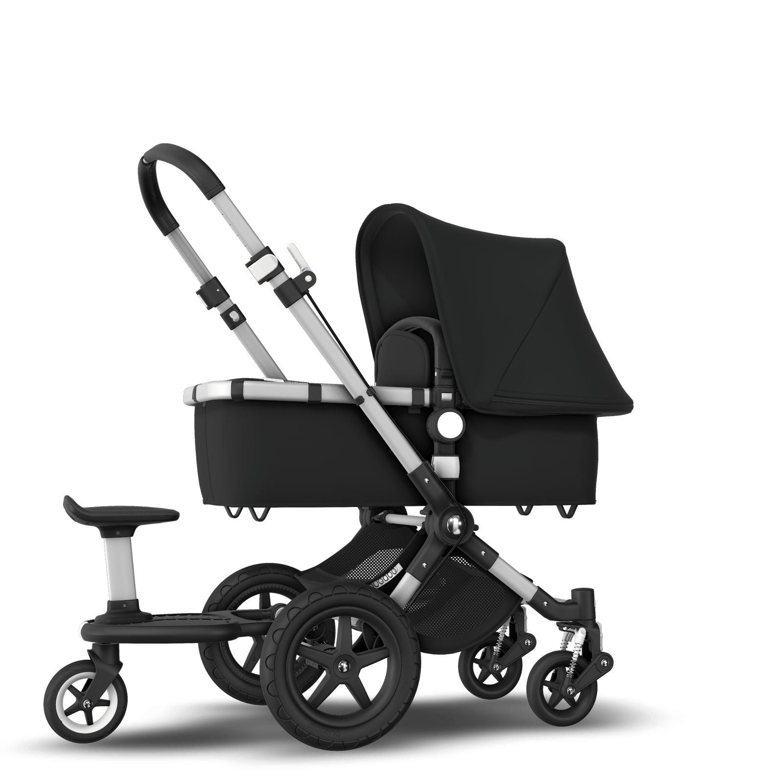 Bugaboo Cameleon 3 Plus Sit and Stand Pushchair - Black + Aluminium