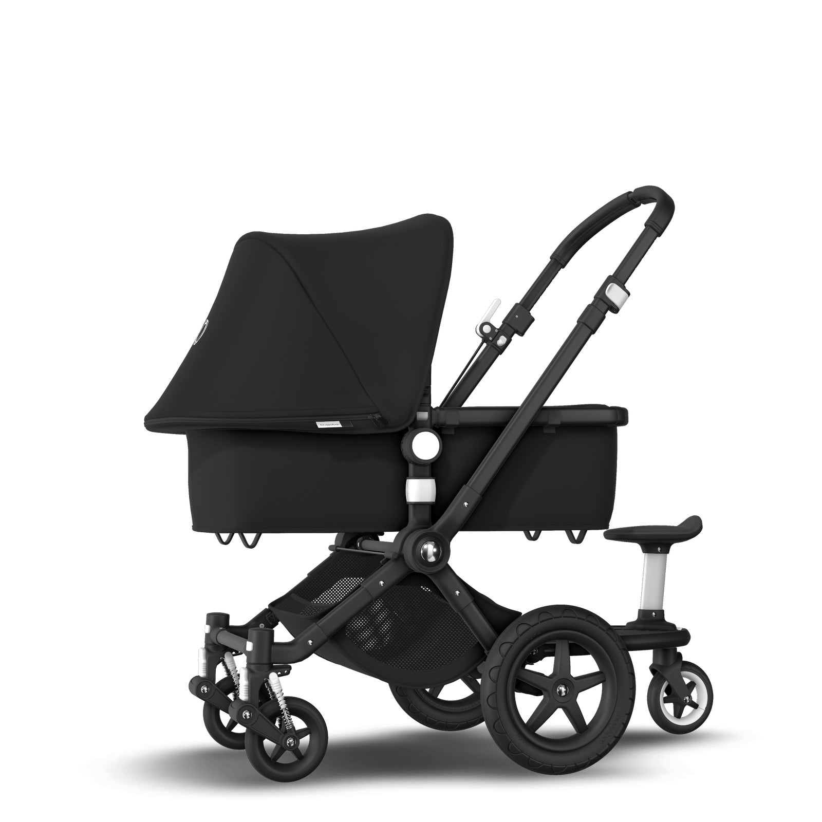 Bugaboo Cameleon 3 Plus Sit and Stand Pushchair - Black + Black