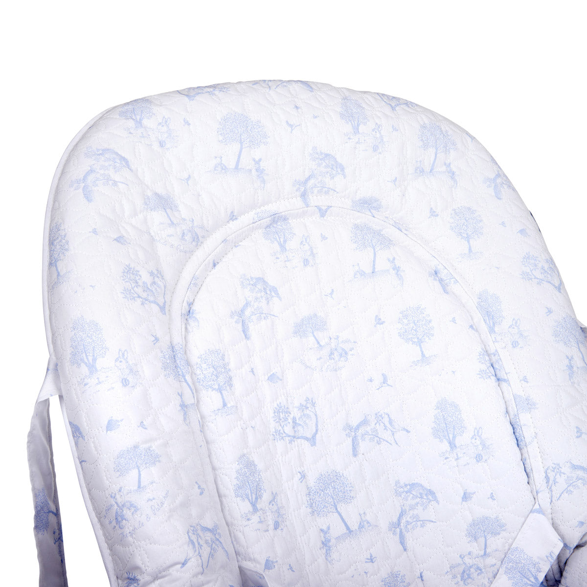 Theophile & Patachou Baby Seat Quilted - Printed Sweet Blue