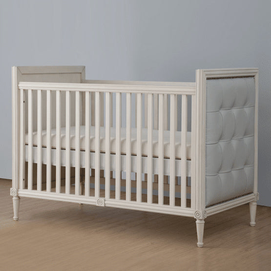 Teddy One Aylesbury Kids Set of 3 Pcs - Cot Bed (Elephants Breath Finish), Dresser and Wardrobe