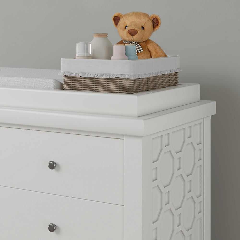 Teddy One Carnaby Kids Set of 3 Pcs - Cot Bed, Dresser and Wardrobe
