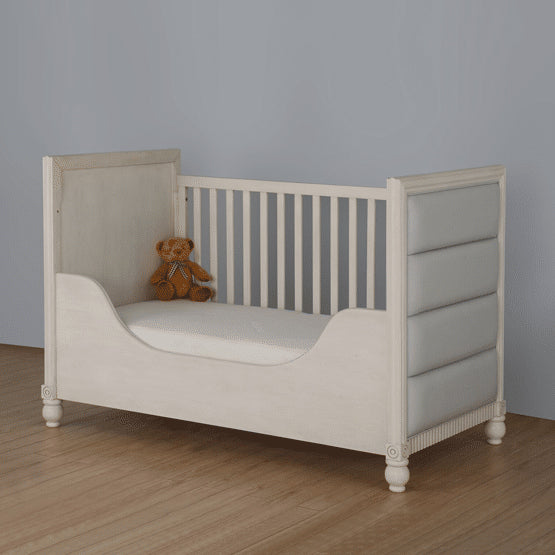 Teddy One Chesterton Kids Set of 3 Pcs - Cot Bed (Pointing Finish), Dresser and Wardrobe