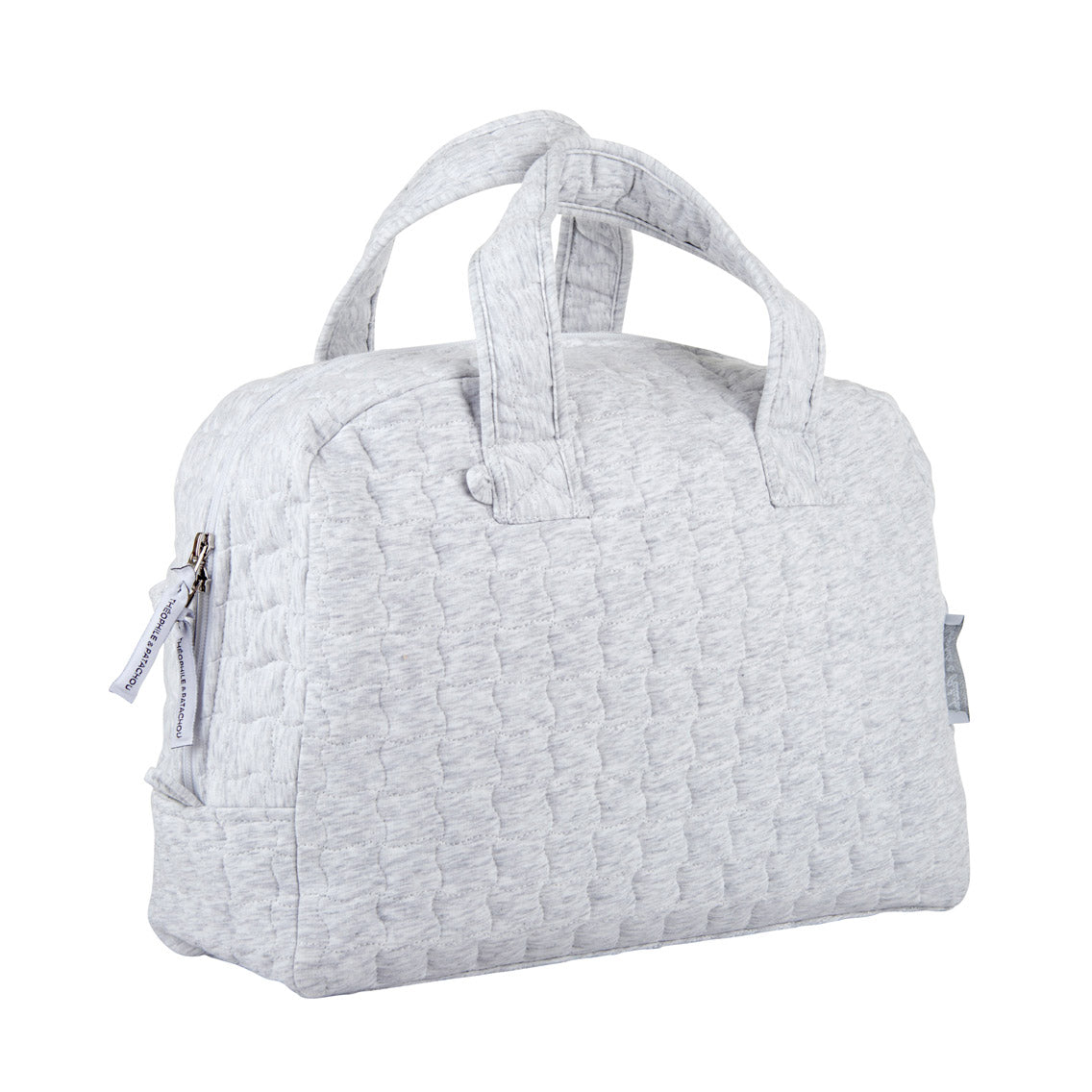 Theophile & Patachou Toiletry Bag Quilted - Grey