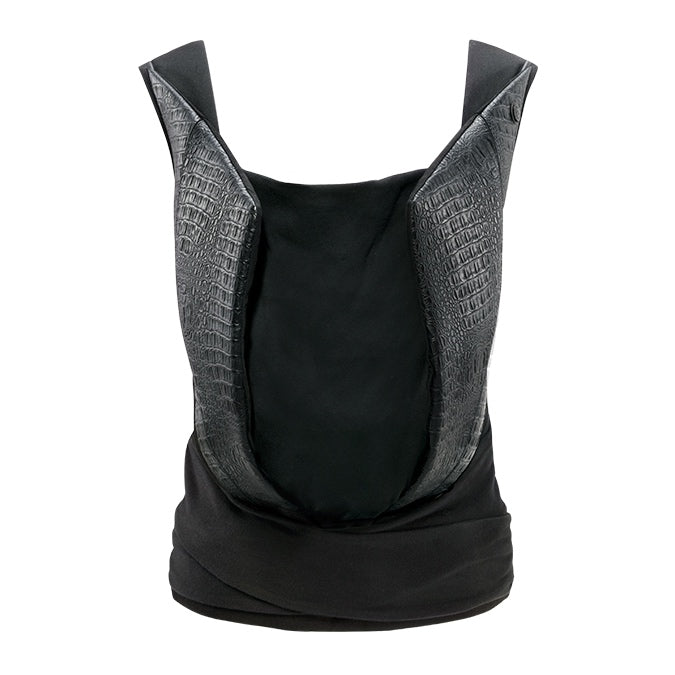 Cybex Yema Tie Baby Carrier - Leather Look Stardust Black