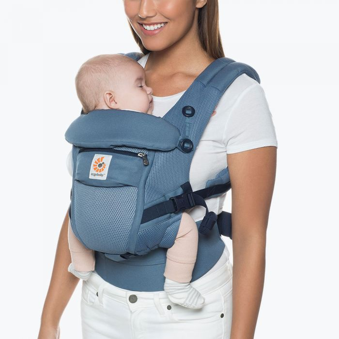 Ergobaby Adapt Baby Carrier - Oxford Blue Cool Air Mesh