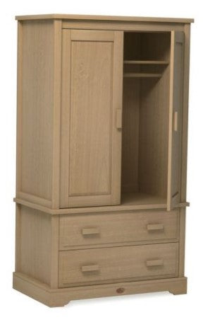 Boori Classic Wardrobe with 2 Drawers - Almond