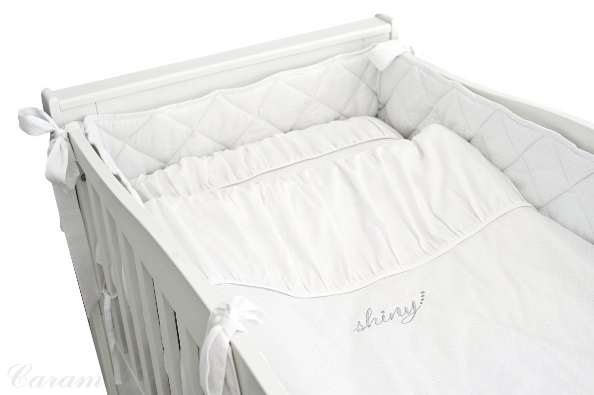 Caramella Shiny Bedding Set With Bumper