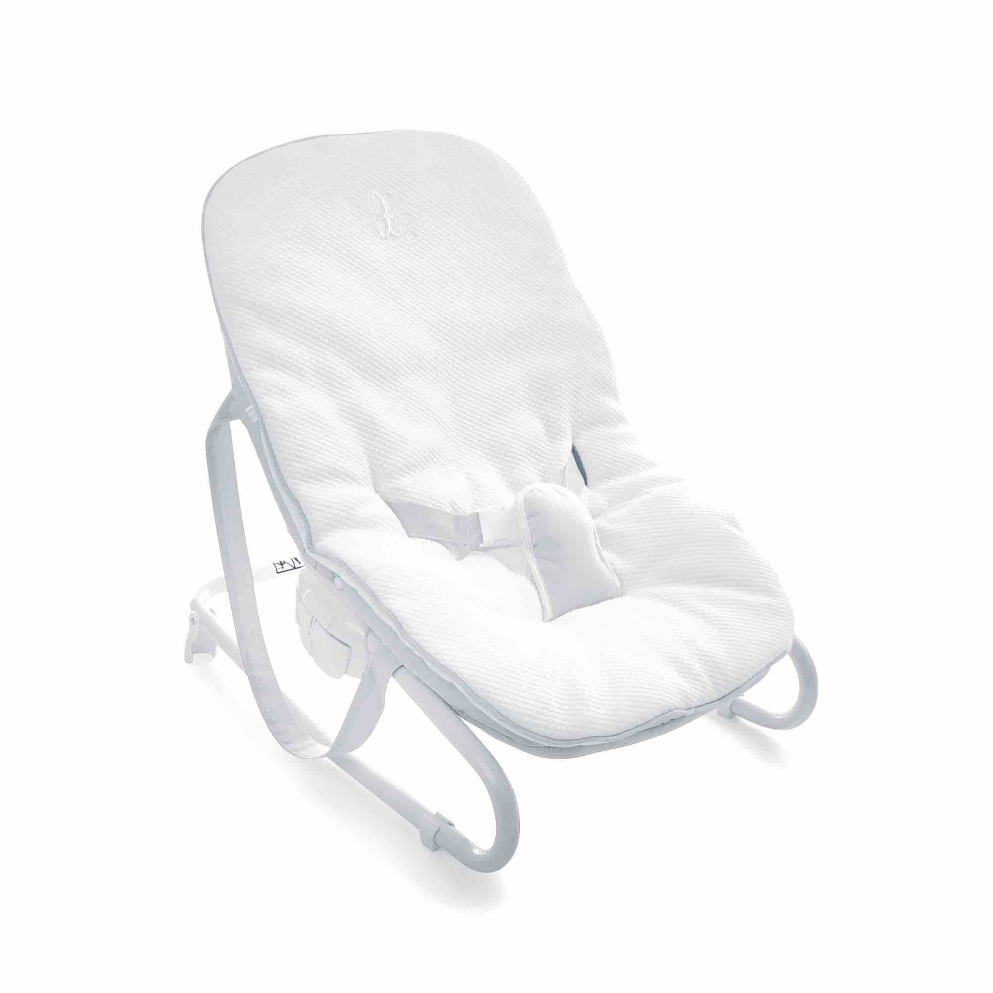 Theophile & Patachou Baby Seat Cover - Pearl