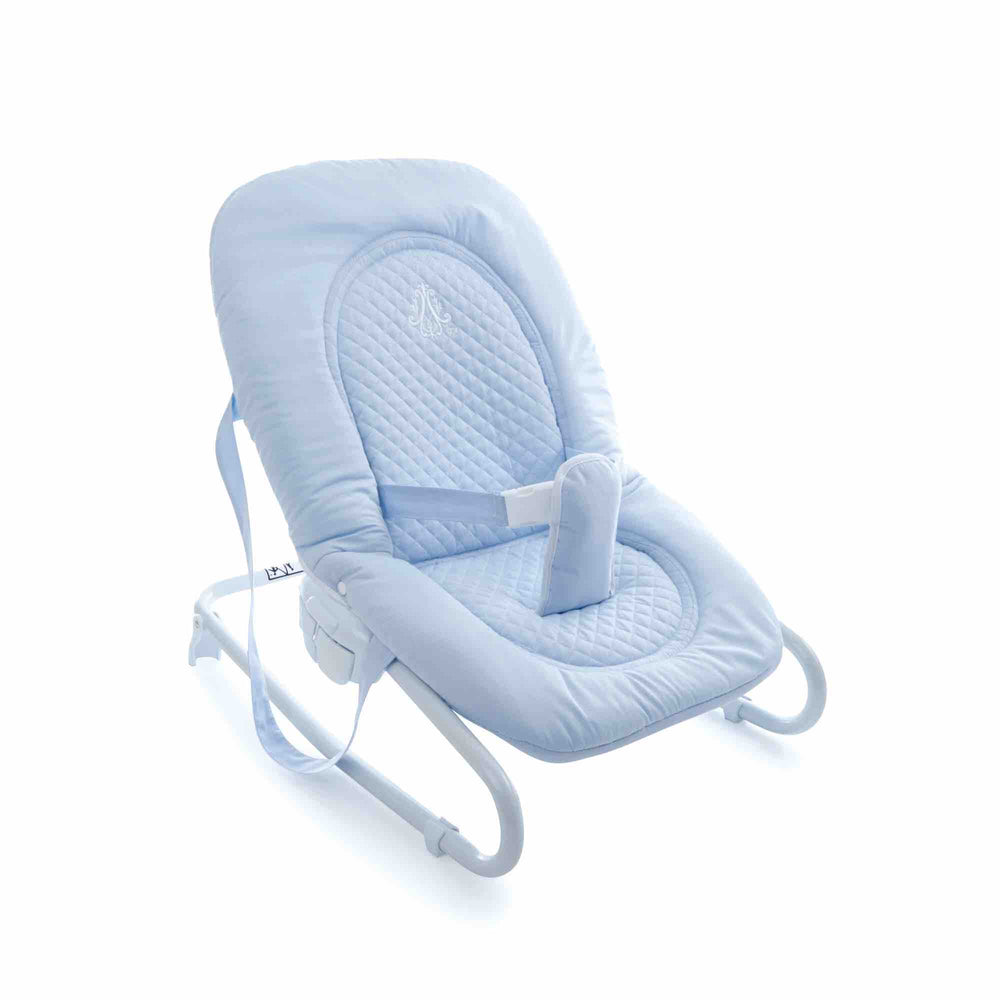 Theophile & Patachou Bouncer Baby Seat - Royal Blue