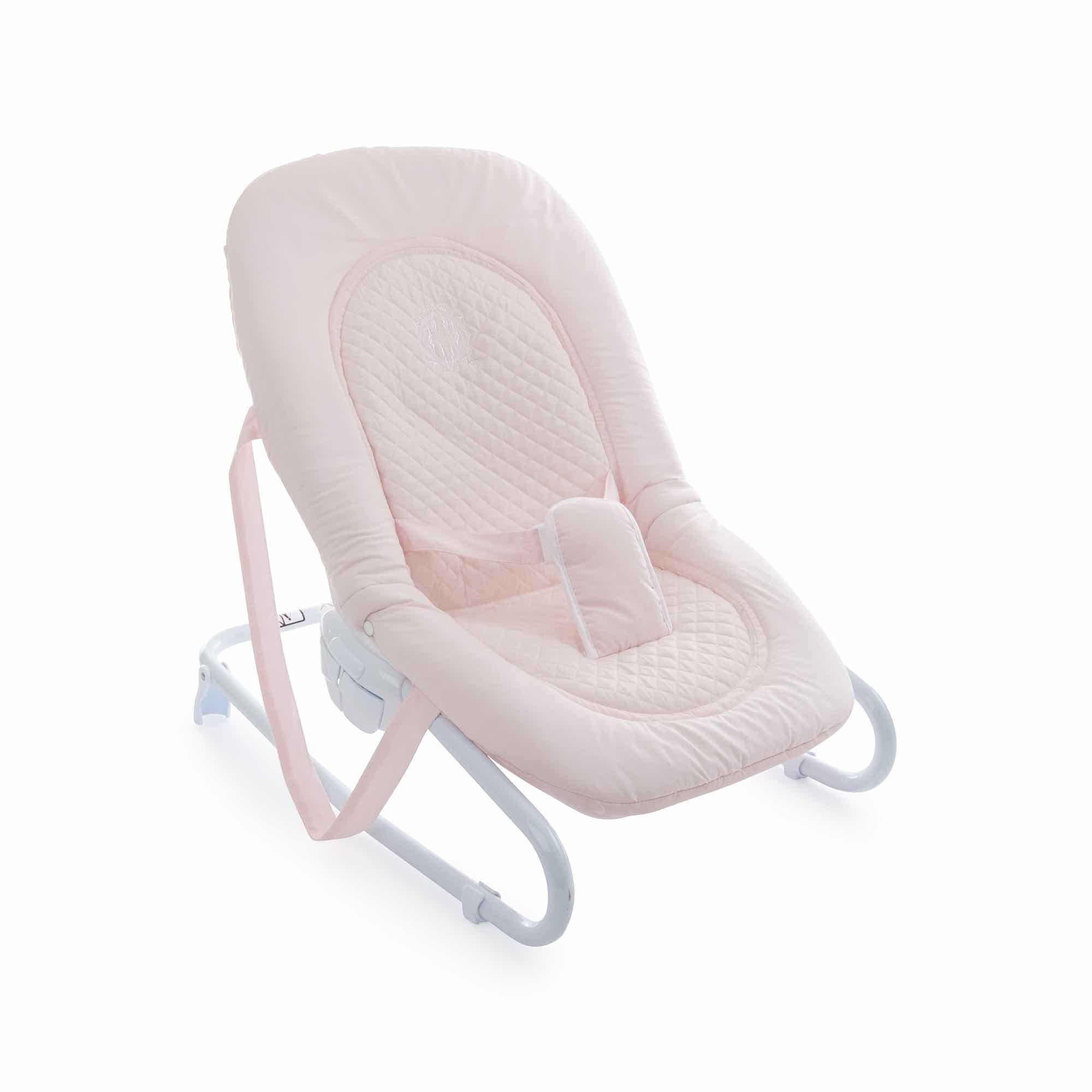 Theophile & Patachou Bouncer Baby Seat - Royal Pink