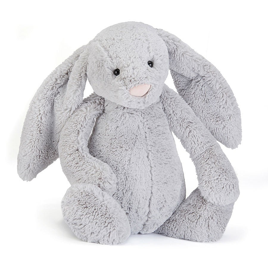 Jellycat Bashful Grey Bunny - Large