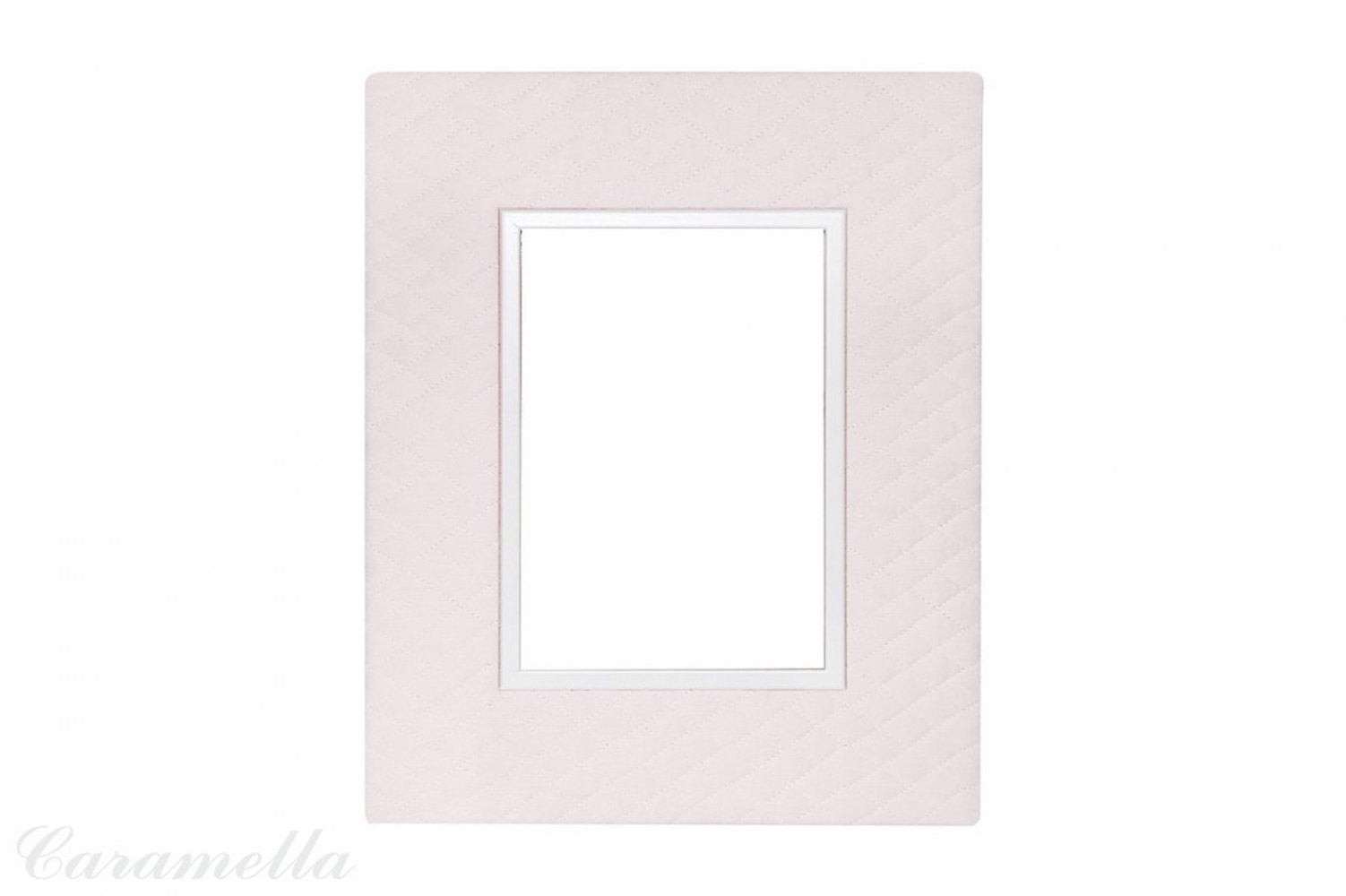 Big pink quilted wall frame