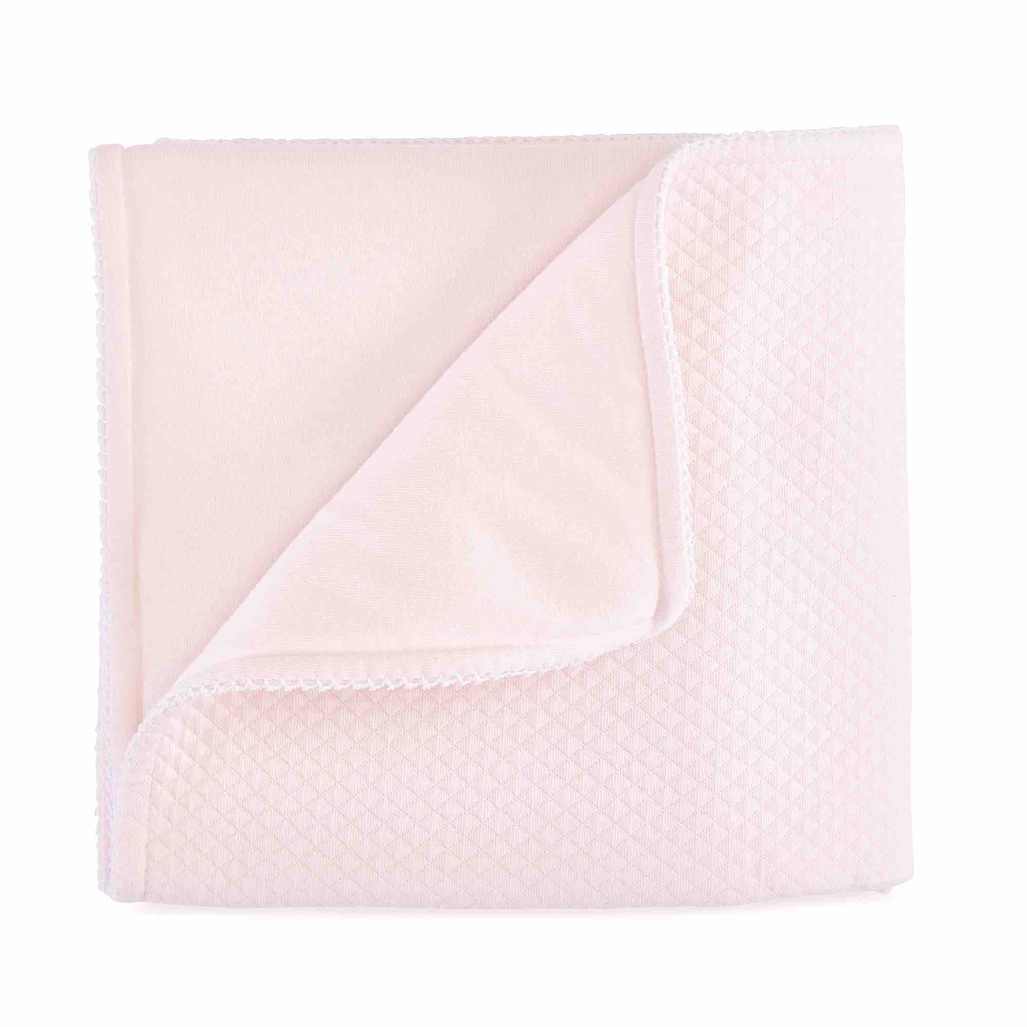 Theophile & Patachou Blanket - Royal Pink