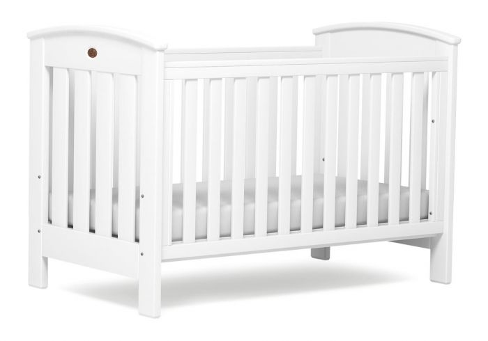 Boori Classic White 3 Piece Cot Bed Set
