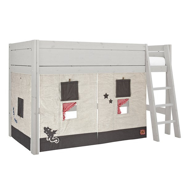 Lifetime Kidsroom - Kids Camp Canyon Mid-Sleeper Bed