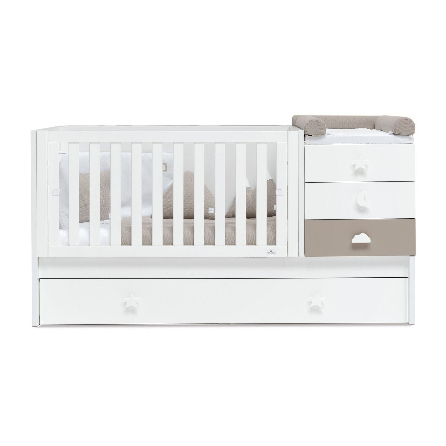 Alondra Convertible Crib Zero Bubble - Arena