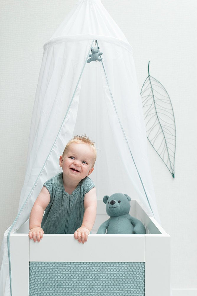 Baby's Only Cot Canopy - Grey