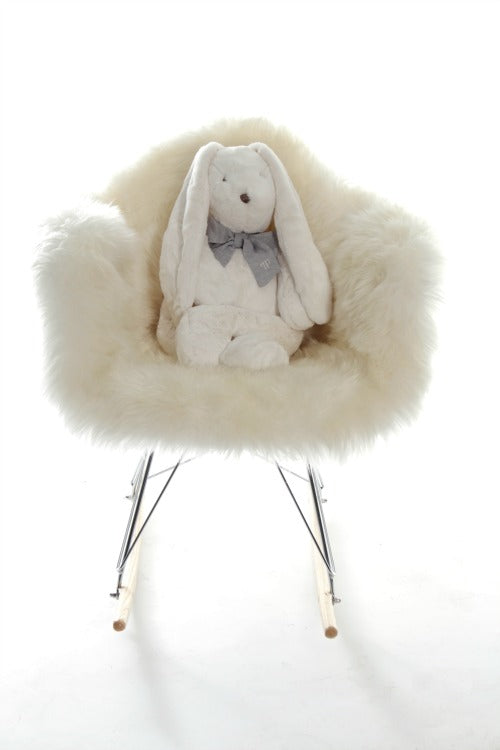 Adorable Tots Sheepskin Nursing Chair