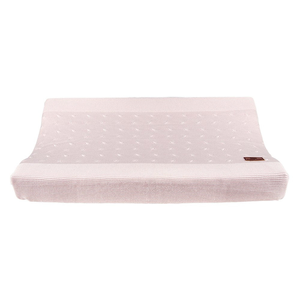 Baby's Only Changing Pad Cover - Cable Classic Pink