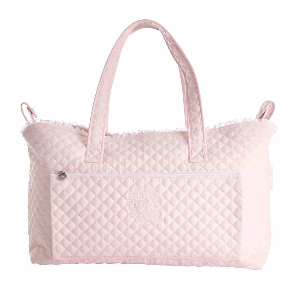 Theophile & Patachou Changing Bag & Mat - Royal Pink