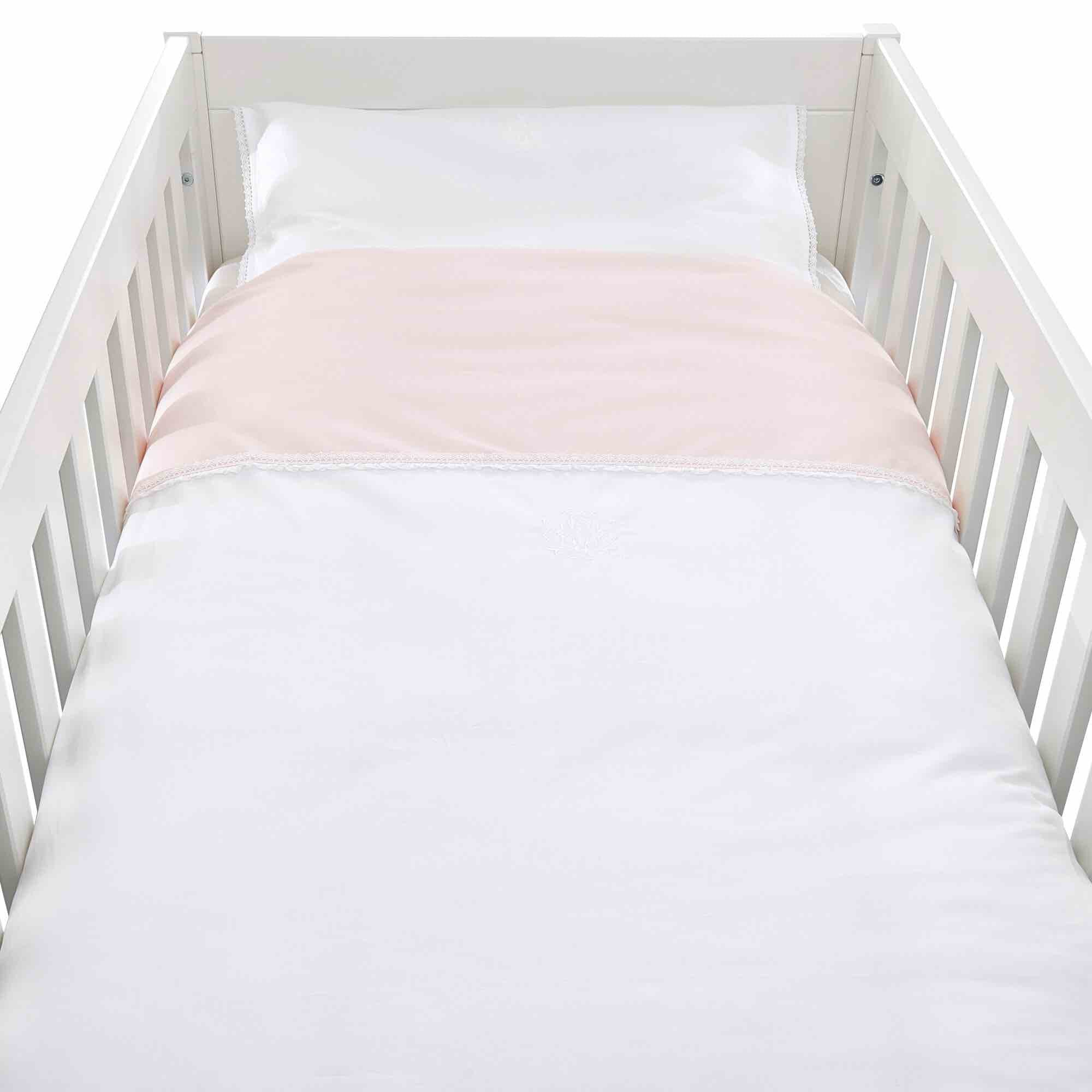 Theophile & Patachou Cot Bed Duvet Cover - Royal Pink