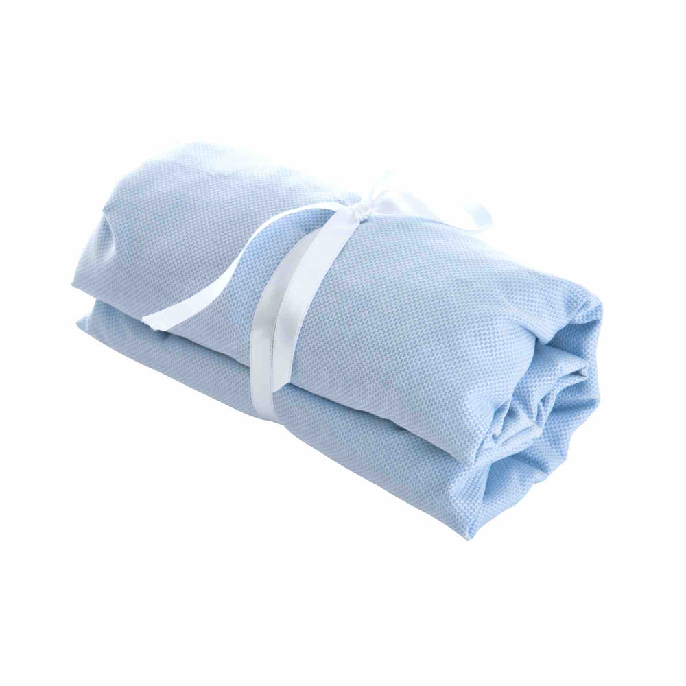 Theophile & Patachou Cot Bed Fitted Sheet 60x120cm - Indigo