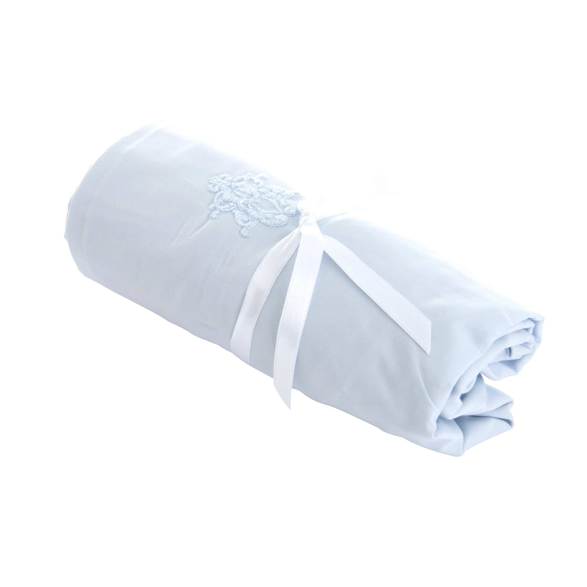 Theophile & Patachou Cradle Fitted Sheet - Royal Blue