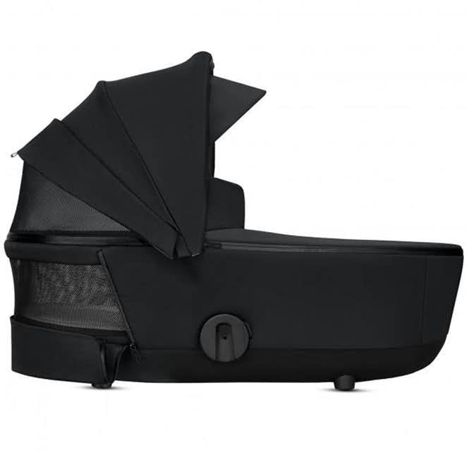 Cybex Priam Lux Carrycot (2019) - Premium Black