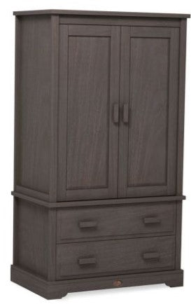 Boori Eton Convertible Plus Wardrobe with 2 Drawers - Mocha
