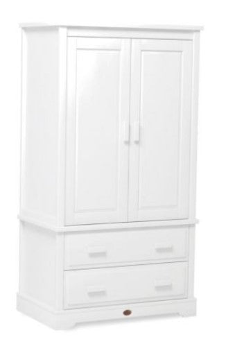Boori Eton Expandable Wardrobe with 2 Drawers - White
