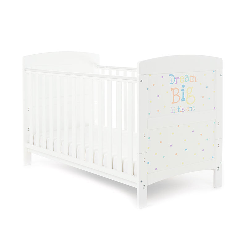 Obaby Grace Inspire Cot Bed - Dream Big Little One