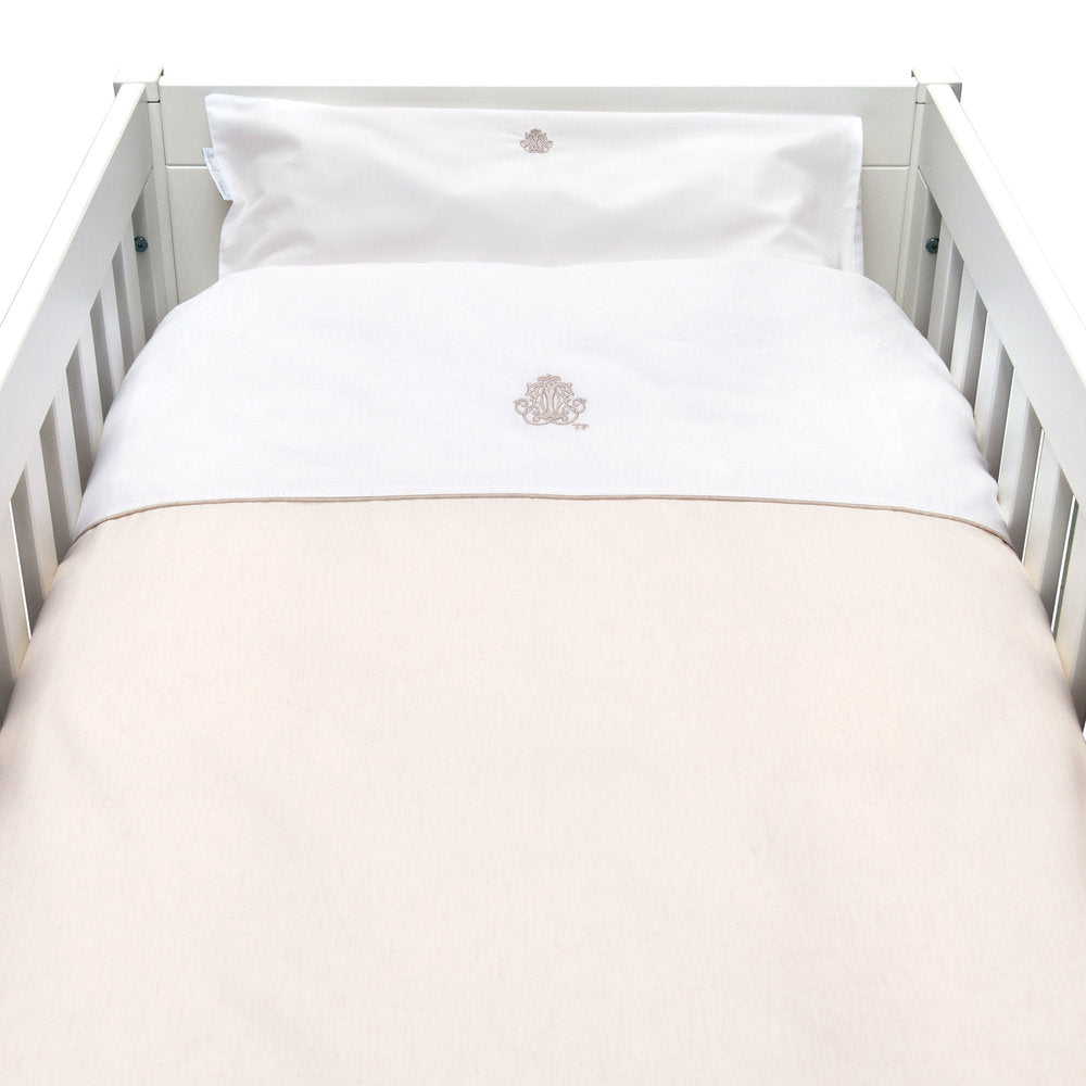 Theophile & Patachou Cot Bed Duvet Cover - Sand