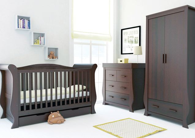 Babystyle Hollie Rich Walnut 3 Piece Nursery Room Set