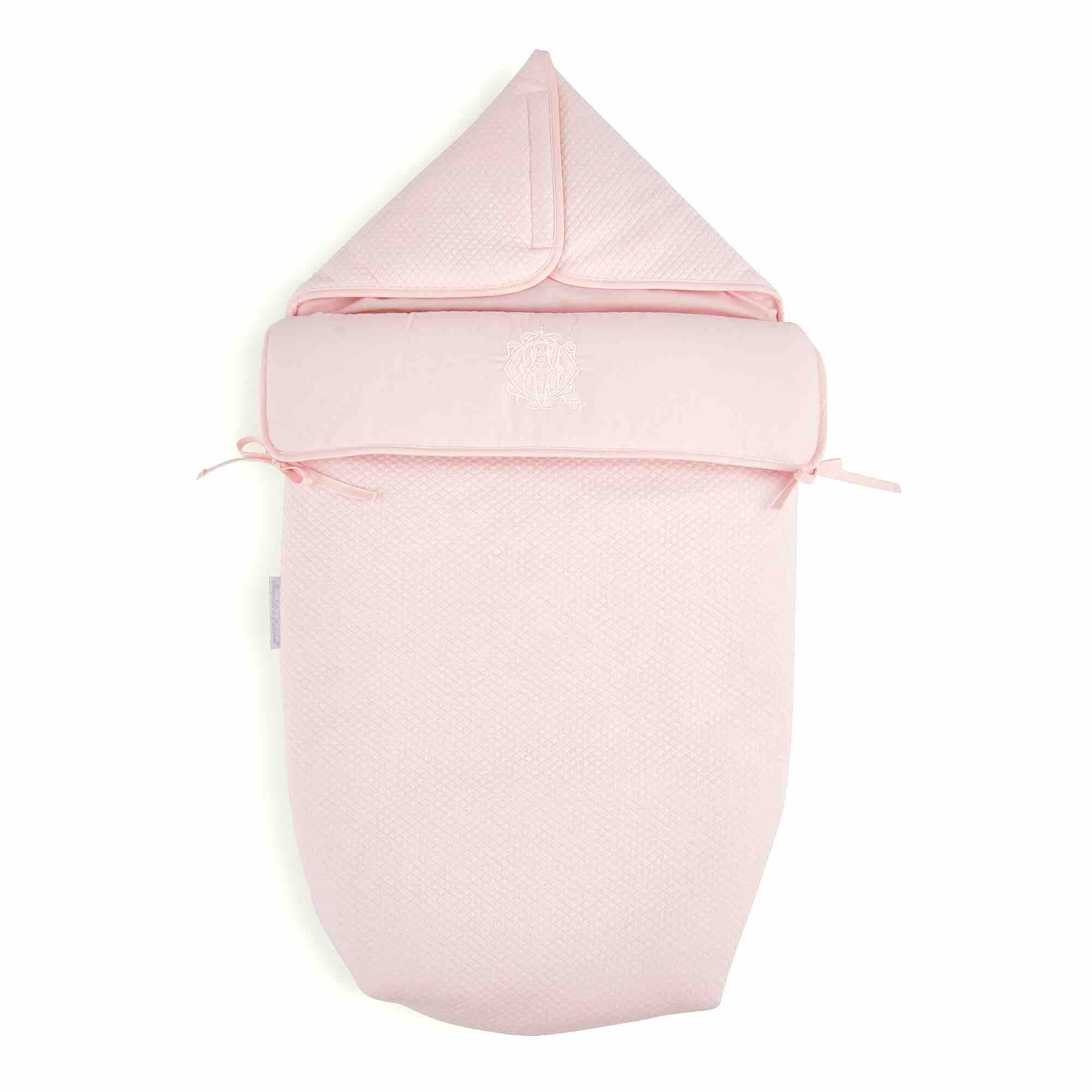 Theophile & Patachou Hooded Sleeping Bag - Royal Pink