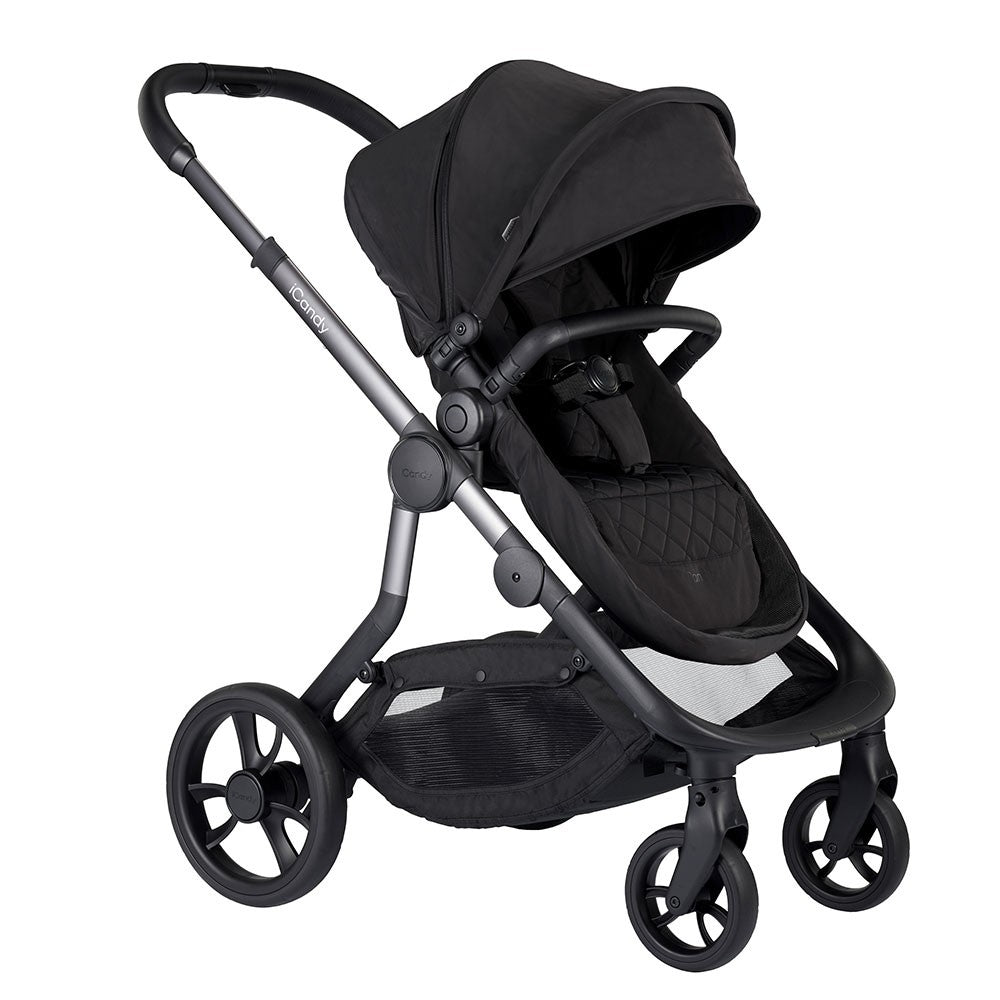 iCandy Orange Pushchair & Carrycot 2019 - Onyx