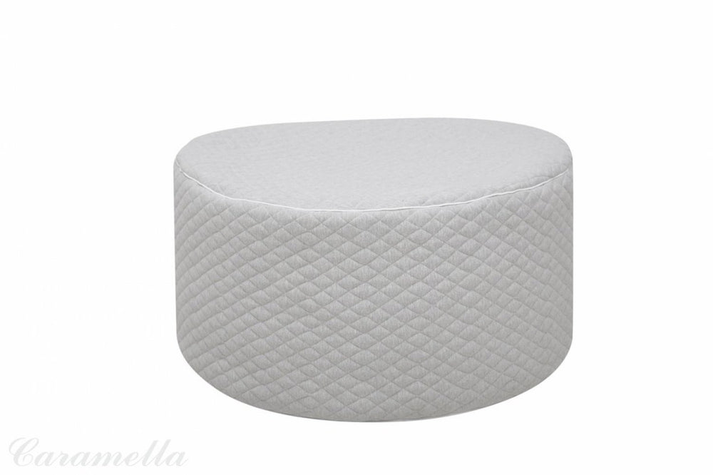 Caramella Quilted Cambridge Pouf