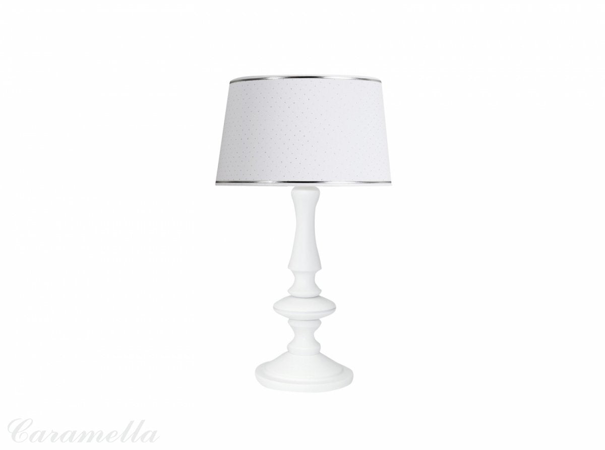Caramella Shiny Lamp With White Leg