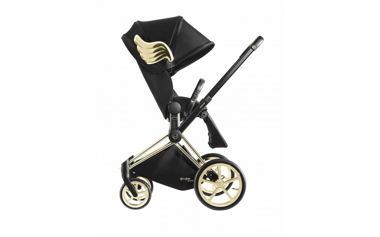 Cybex Jeremy Scott Gold Wings Priam Stroller