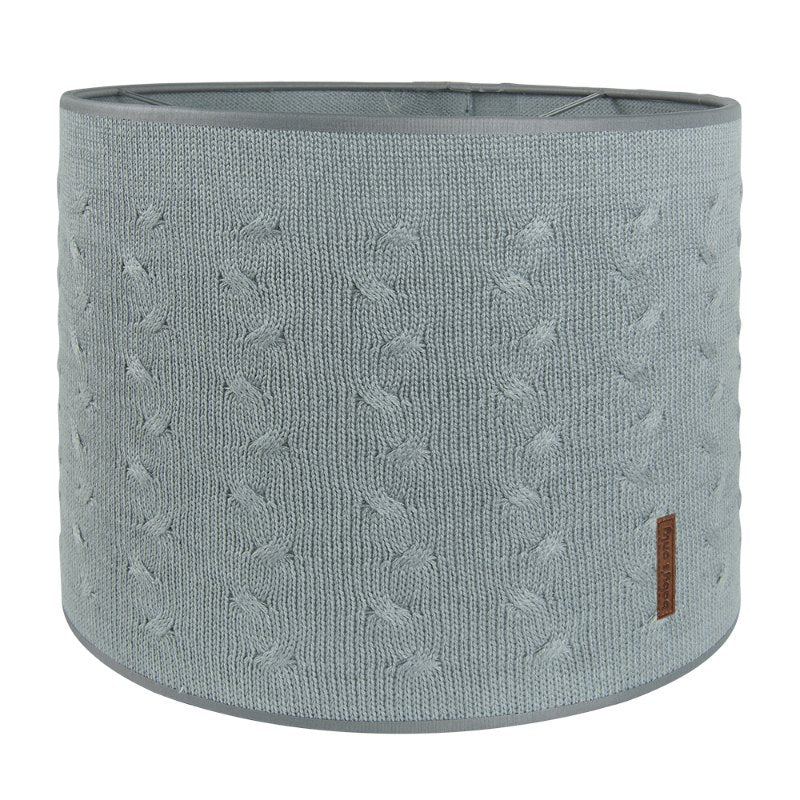 Baby's Only Lampshade - Cable Grey