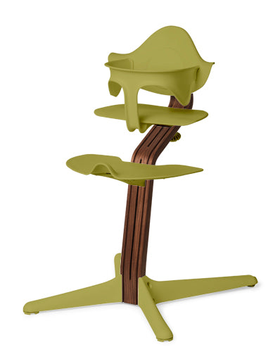 Nomi Highchair with Mini Set - Walnut Stem
