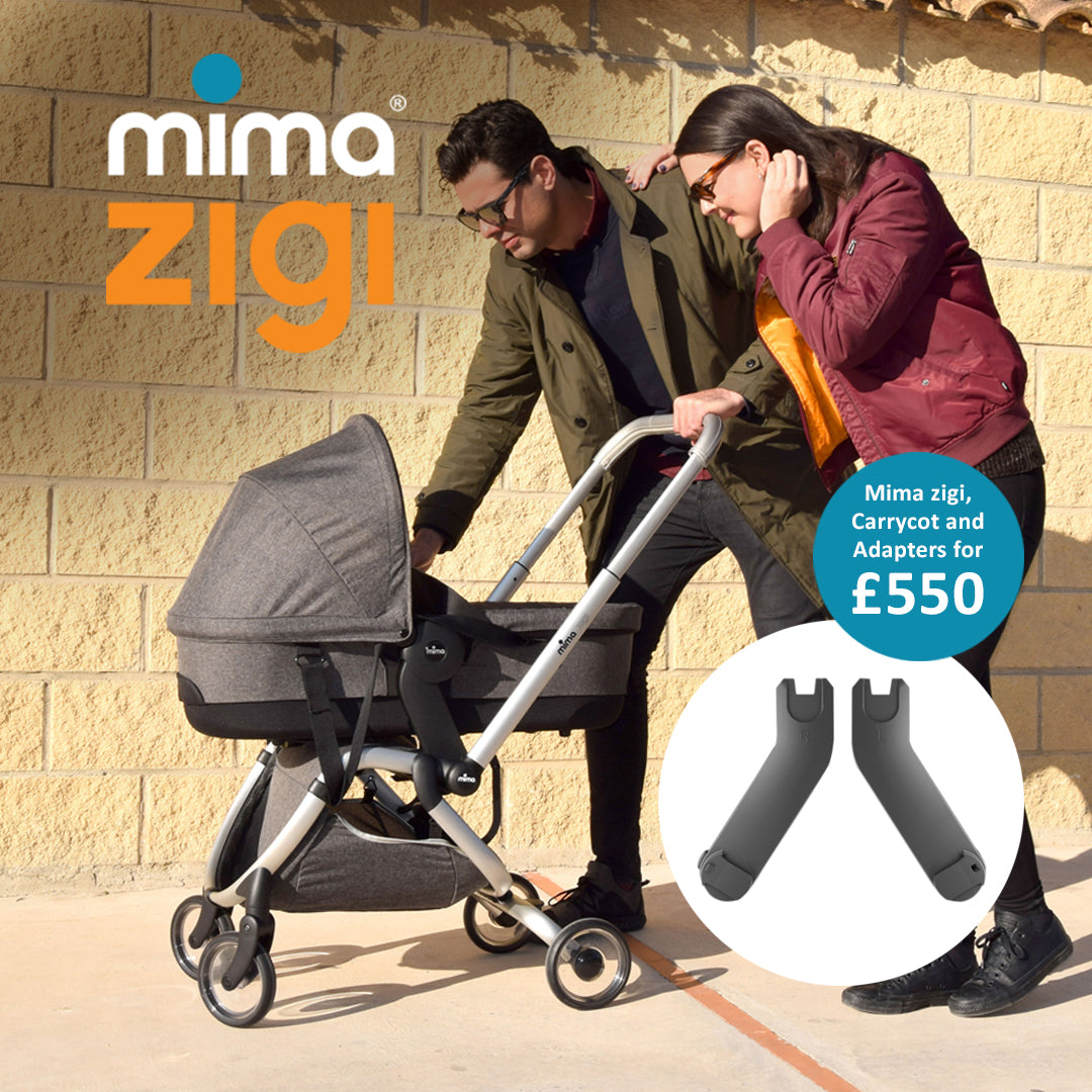 Mima Zigi Bundle - Charcoal