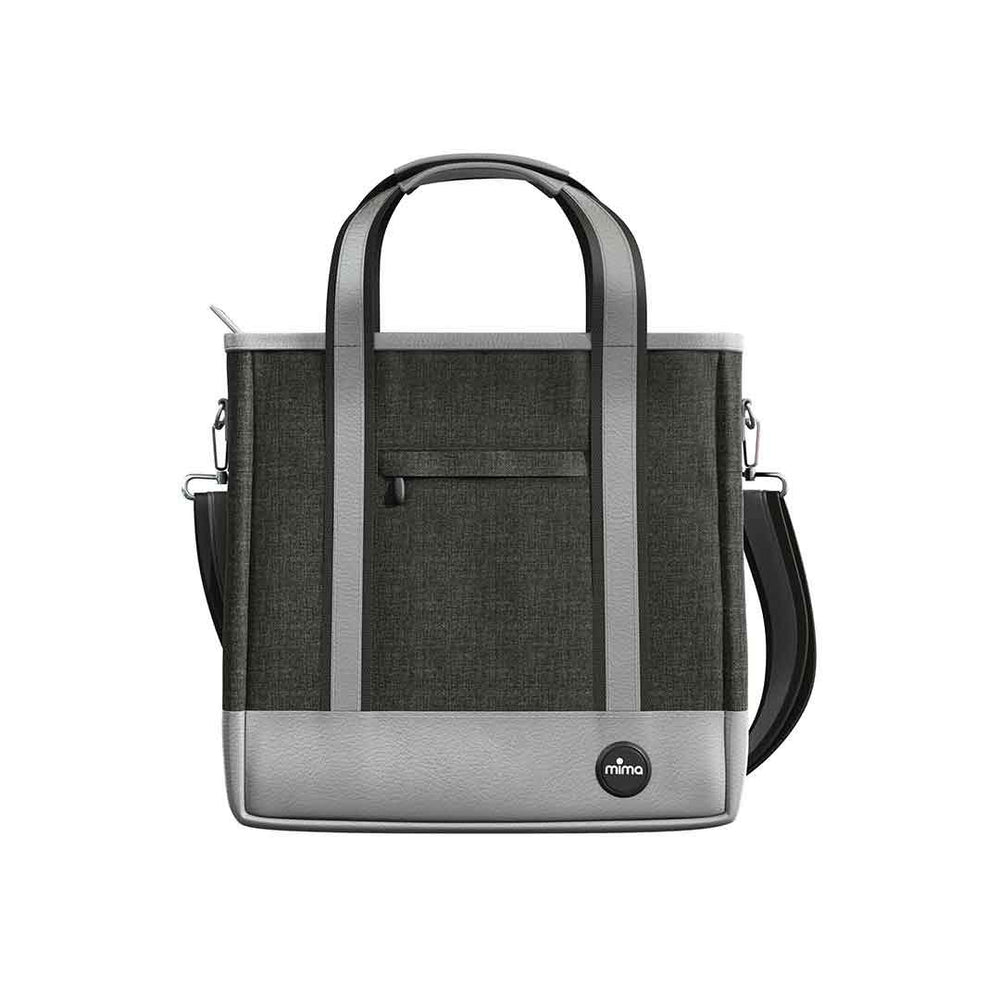 Mima Zigi Change Bag - Charcoal