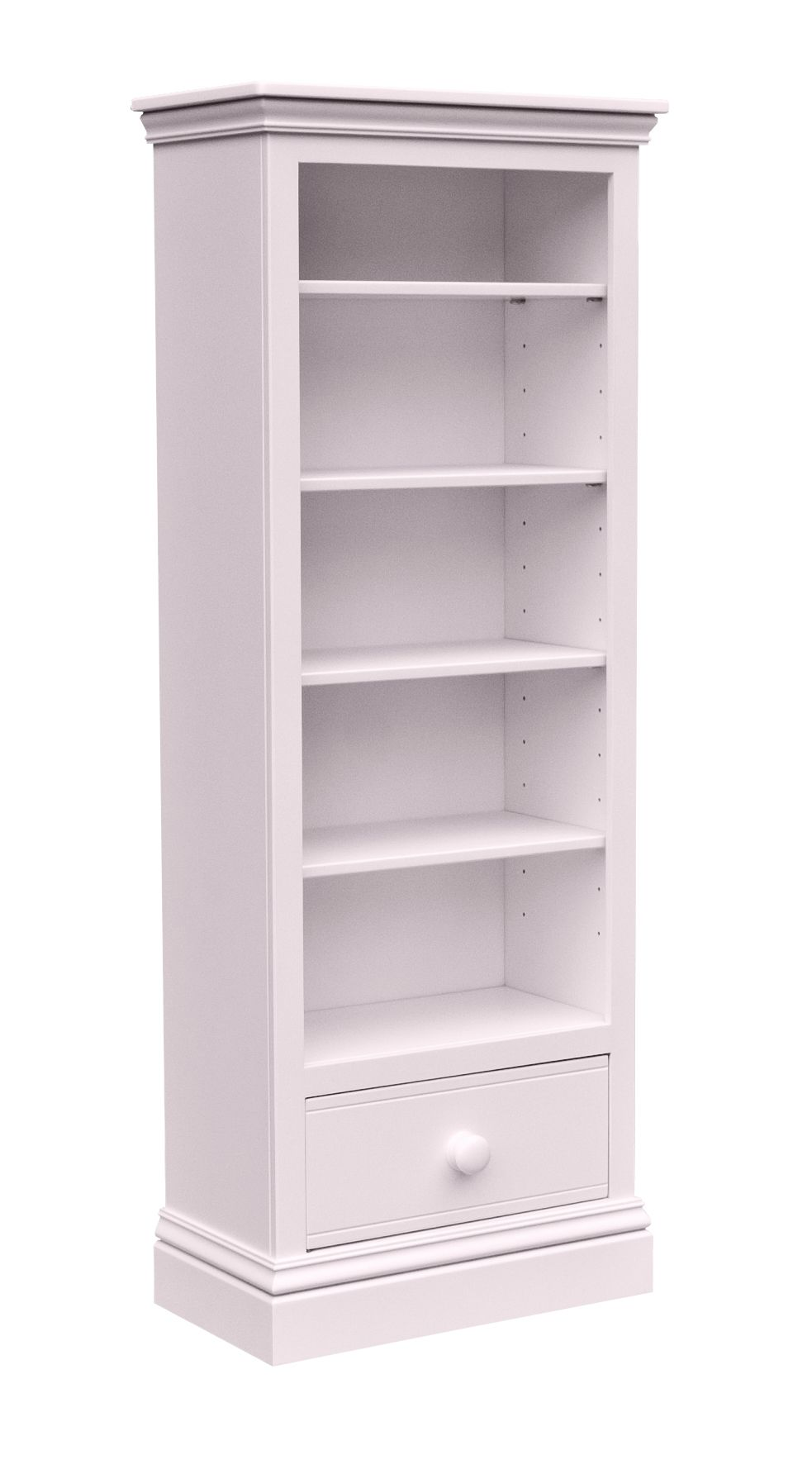 New Hampton Tall Bookcase - Candy Floss
