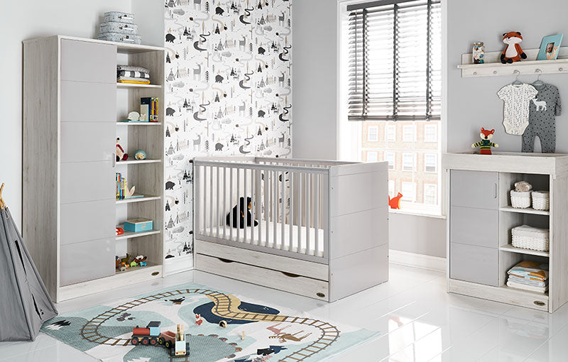 Obaby Madrid 3 Piece Room Set - Lunar
