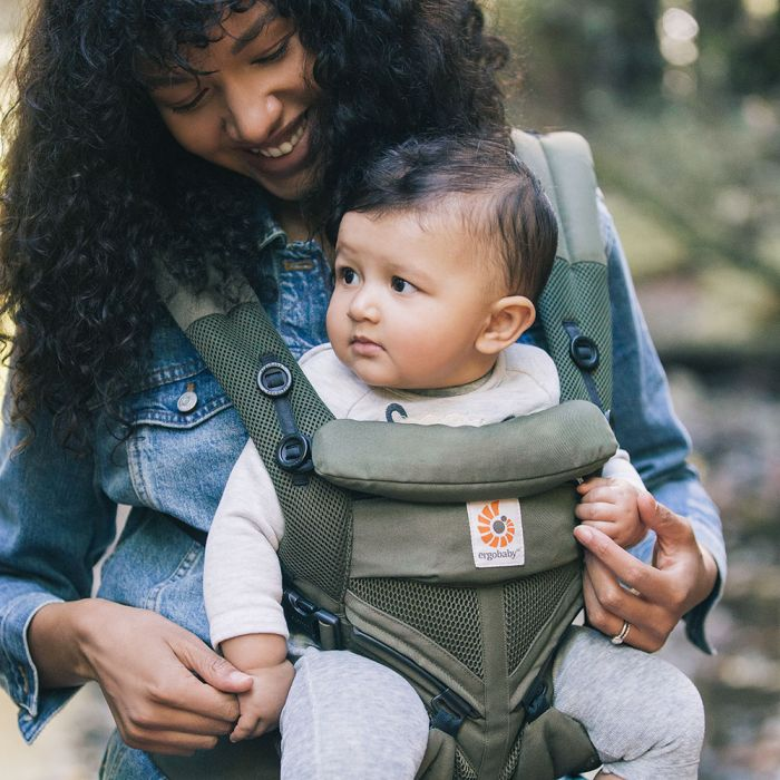 Ergobaby Omni 360 Carrier All in One - Khaki Green Cool Air Mesh