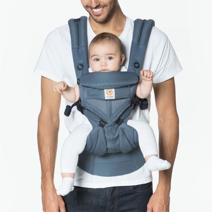 Ergobaby Omni 360 Carrier All in One - Oxford Blue Cool Air Mesh