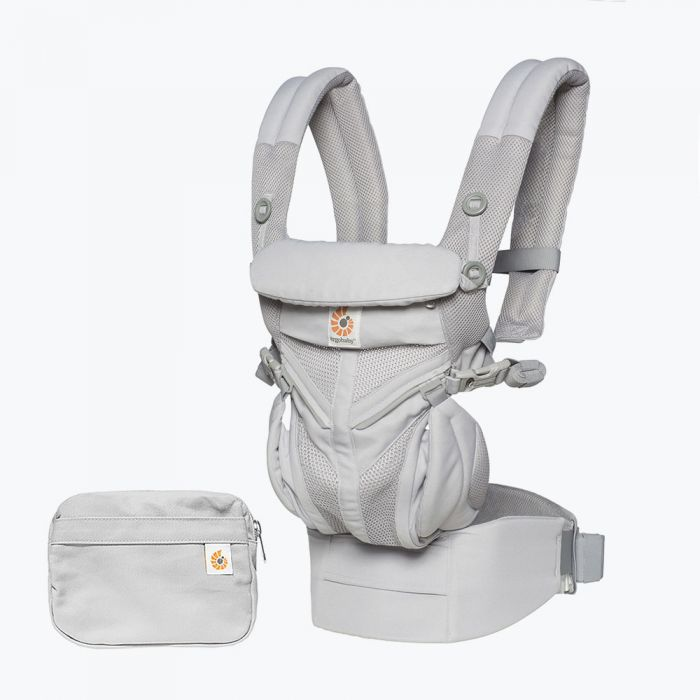 Ergobaby Omni 360 Carrier All in One - Pearl Grey Cool Air Mesh