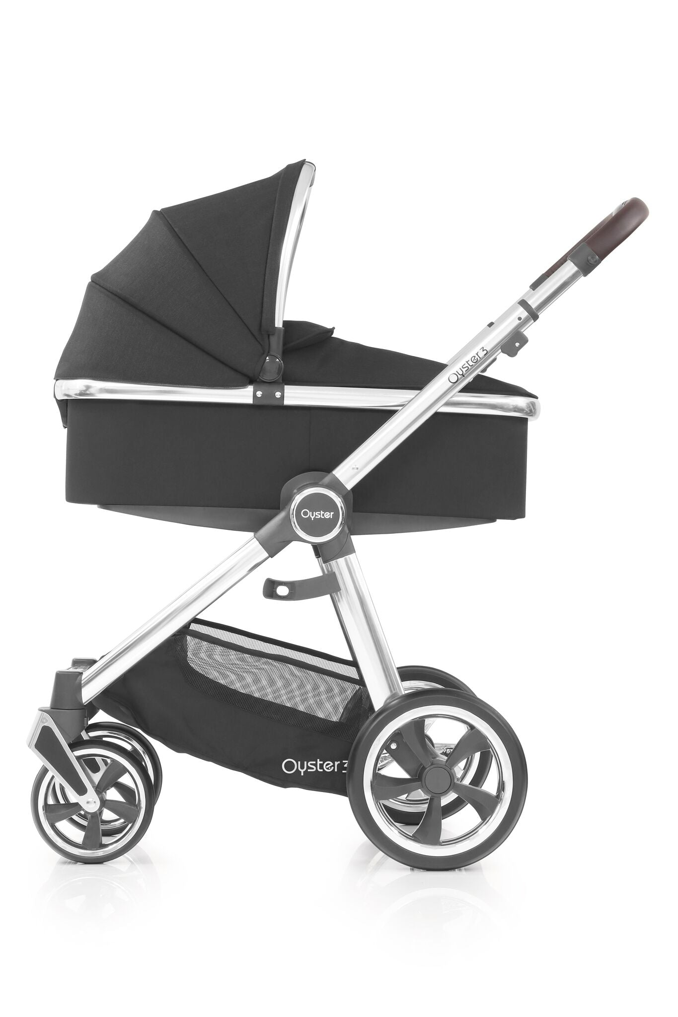 Babystyle Oyster 3 Stroller & Carrycot - Caviar