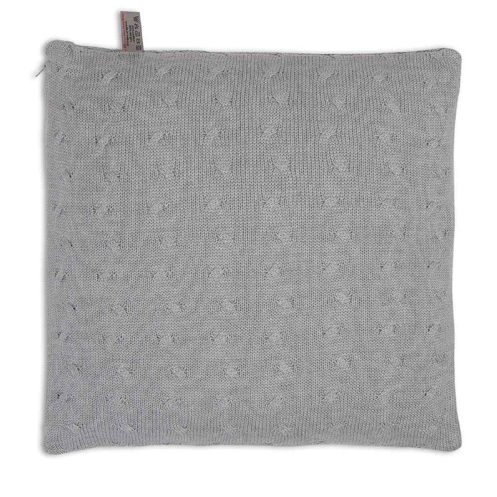 Baby's Only Cushion 40x40cm - Cable Grey