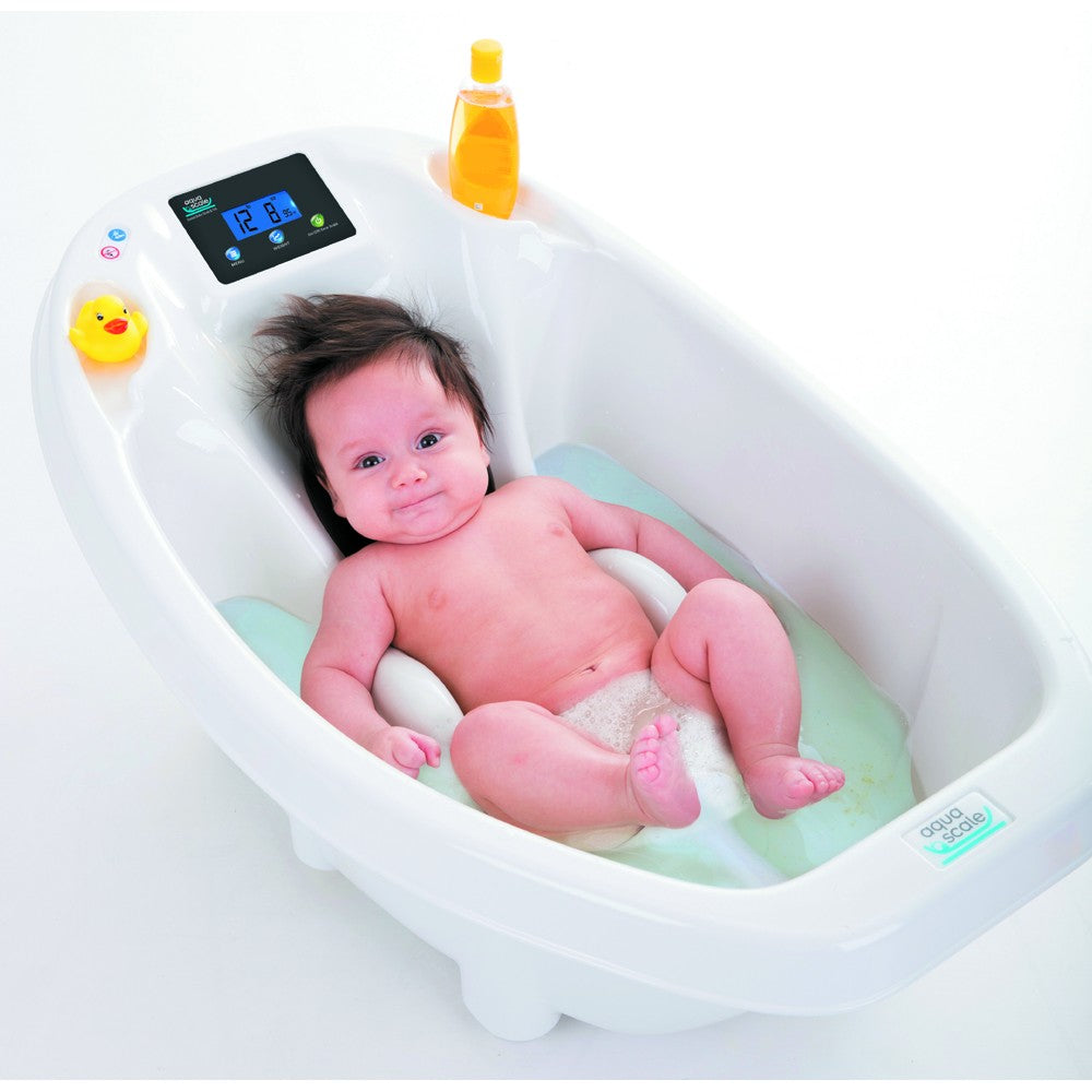 Aquascale 3-in-1 Digital Baby Bath - White